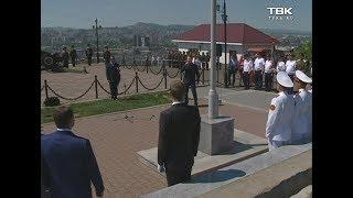 Праздничная церемония, посвящённая Дню города Красноярка