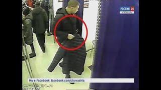 Чебоксарские оперативники задержали мужчину, похищавшего одежду из торговых центров