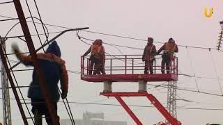 UTV. На Тимашевском переезде в Уфе приступили к главному этапу строительства