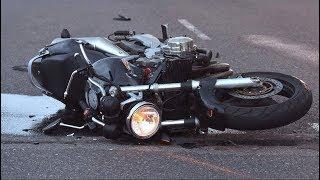 Мото аварии 2018. Аварии мотоциклистов.