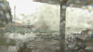"""Тайфун """"Мангхут"""" свирепствует в Китае"""