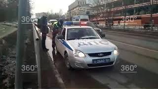 Водитель сбил ребенка на пешеходном переходе в Одинцово