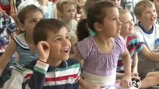 """Хорошее настроение подарили воспитанникам детдома №1 артисты цирка """"Адреналин""""(РИА Биробиджан)"""
