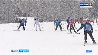 Карелия присоединилась к зимнему празднику «Лыжня России»