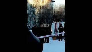 Появилось видео разбора завалов на месте рухнувшего дома в Мурманске