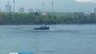 Авиация Росгвардии провела учения в Красноярске