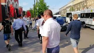 Первые задержания на акции 5 мая в Воронеже