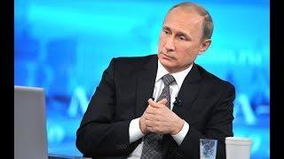 Прямая линия с Владимиром Путиным - 2018. Полное видео