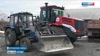 В Алтайском крае начался техосмотр сельскохозяйственных машин