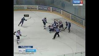 Хоккейный клуб «Чебоксары» уступил дружине «Тамбов» в третьем матче финальной серии первенства ВХЛ
