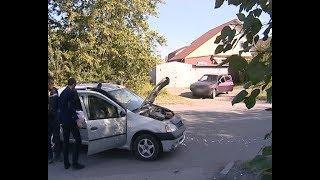 Сегодня на улице Ленина произошло дорожно-транспортное происшествие