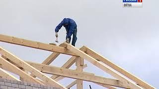 В Сидоровке проверили, как идут работы по реконструкции детского сада(ГТРК Вятка)