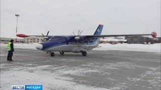 На направлениях Омсукчан и Сеймчан будет работать новый самолёт  L 410