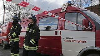Пожар в универмаге «Пассаж» в Санкт Петербурге