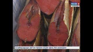 В Чебоксары снова привезли дары Камчатки