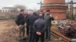 В селе Мокеиха начали возводить стены новой угольной котельной