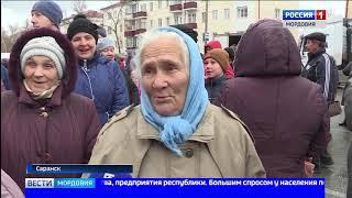 В Мордовии прошла традиционная ярмарка выходного дня