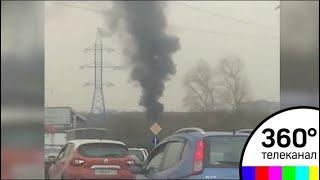 У МКАДа сгорели 9 машин