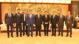 Дмитрий Миронов обсудил с мэром Шанхая господином Ин Юном вопросы межрегионального сотрудничества