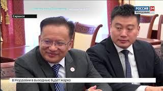 Владимир Волков обсудил сотрудничество в сфере фармацевтики с партнерами из Китая