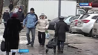 Сотни жителей Петрозаводска получили травмы на скользких улицах города