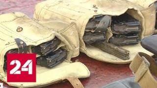 """Не могли не ответить: украинские военные на катере """"Бердянск"""" расчехлили пушку - Россия 24"""