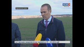 Михаил Игнатьев оценил состояние посевов в Вурнарском районе
