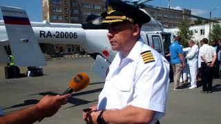 """Презентация вертолета """"Ансат"""" в Оренбурге"""