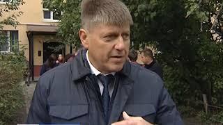 В Калининграде капитально отремонтировали фасад жилого дома на улице Школьной
