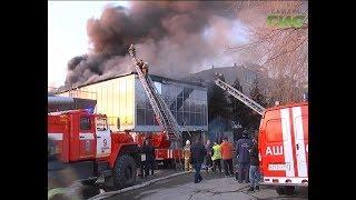 """Стала известна причина пожара, вспыхнувшего в здании возле КРЦ """"Звезда"""""""