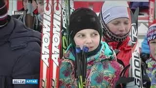 Юношеская сборная страны по биатлону приехала в Белокуриху