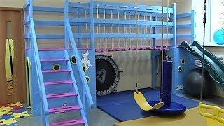 В Сургуте открыли новую сенсорную комнату для детей-инвалидов