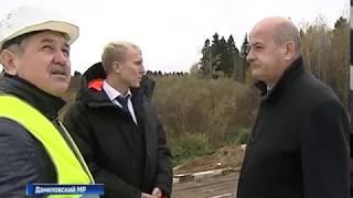 В Даниловском районе заканчивается ремонт моста через реку Касть