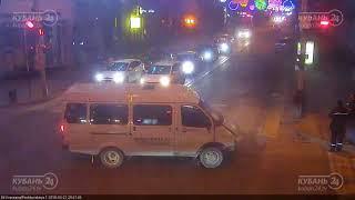 ДТП на ул. Красная и ул. Пашковская 21.03 2018