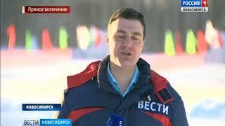 В Новосибирске проходит гонка «Лыжня России»