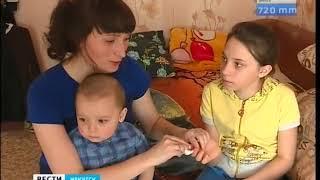 Катя Кичигина из Михайловки благодарит жителей области за покупку инсулиновой помпы