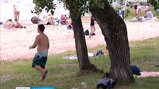 На Татышеве официально открылся первый пляж