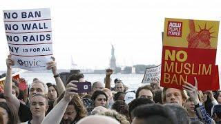 Протесты против Трампа и Верховного суда