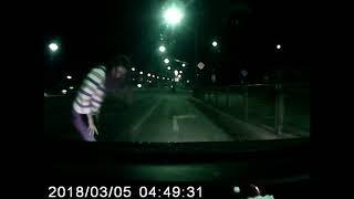 Девушка за рулём такси предотвратила ДТП с участием конкурента