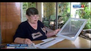 Хобби длиной в 15 лет: пенсионерка из Великополья занимается бисероткачеством - Вести Марий Эл