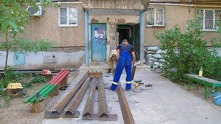 В Волжском укрепляют дом, пострадавший от взрыва газа