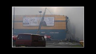 Пожар в гипермаркете в Санкт-Петербурге полностью ликвидирован