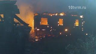 В Мордовии на пожаре погиб мужчина