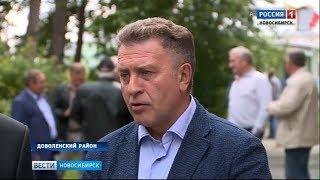 Андрей Шимкив: «Встреча с жителями Доволенского района прошла живо и плодотворно»