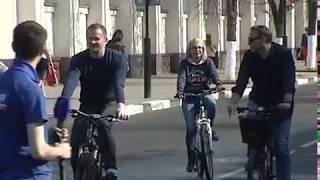 Ярославцы присоединились к Всероссийской акции и приехали на работу на велосипеде
