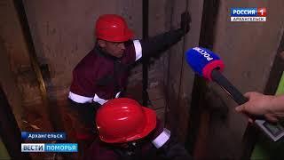 В Архангельске по программе капремонта меняют лифты