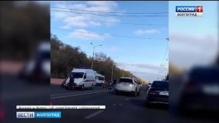 В Волгограде автомобиль насмерть сбил пешехода