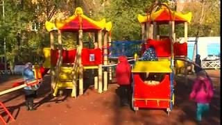 Новая детская площадка появилась в Октябрьском районе Самары