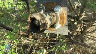 В Будённовском районе преступники сделали врезку в нефтепровод и перекачали более 100 тонн нефти
