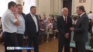 В Вологде представили книгу «История полиции Вологодского края»